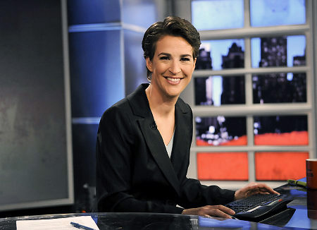 Rachel Maddow photo courtesy of New York Daily News.
