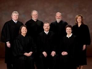 The Kansas Supreme Court. Photo courtesy of the Wisconsin Gazette.