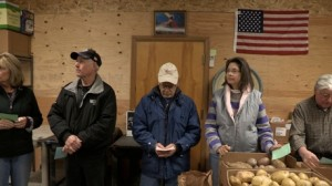 "Scene from food bank in ""American Winter."" Photo courtesy of film's website."