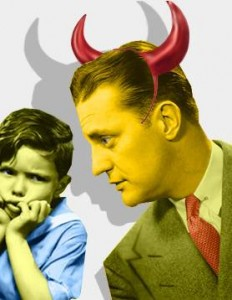 Stepfathers often get a bad rap. Communication is a key to their becoming good parents, a new study says. Photo courtesy of msnbc.com.