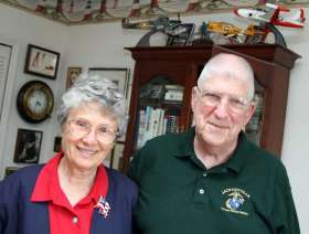 A recent photo of Alice and Richard Stratton. Photo courtesy of the Florida Times-Union.