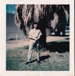 Photo of Michael Matthews when he served in the Air Force in the 1970s. Photo courtesy of Michael Matthews.