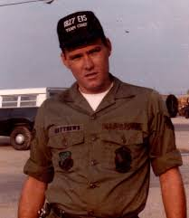 A photo of young Michael Matthews in the military. Photo courtesy of Mattews.