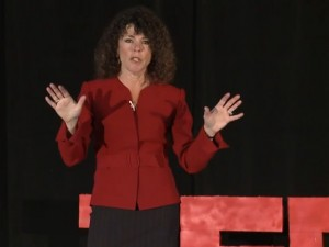Michele Weiner-Davis delivered a TED talk on how to renew sexual passion in marriages. Screenshot from YouTube.
