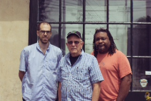 "From left, ""Caregivers"" filmmakers Tim Fryett (videographer, editor), Vic Compher (producer and director), and Rodney Whittenberg (co-producer)."