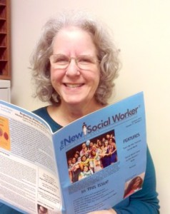 Linda May Grobman, publisher of The New Social Workers Magazine.