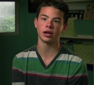 Jordan in a scene from Families Are Forever.