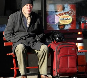 "Richard Gere portrays George, a man who becomes homeless, in ""Time Out of Mind."""