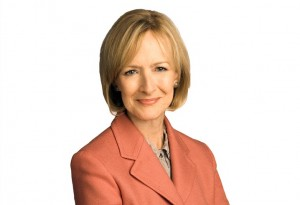 Judy Woodruff. Photo courtesy of PBS.