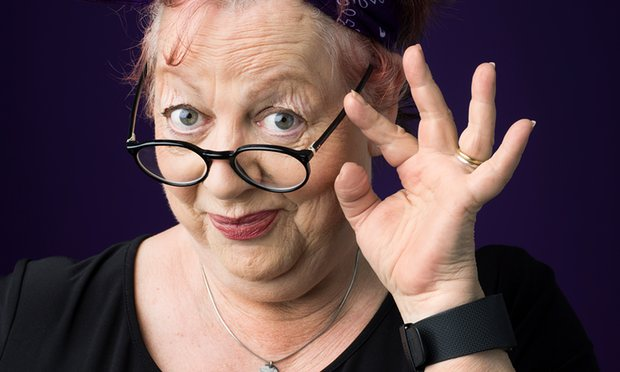 "Actress, comedian and writer Jo Brand will co-write and co-star in ""Damned."" Photo courtesy of The Guardian."