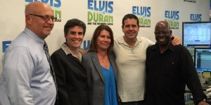 (From Left to Right) Mike Stoltz, LMSW, CEO, Anne-Marie Montijo - Deputy Director for Strategic Initiatives, Marcelle Leis – Director, Joseph P. Dwyer Veterans Peer Support Project, Skeery Jones - Host, Silas W. Kelly - Member of The Board of Directors