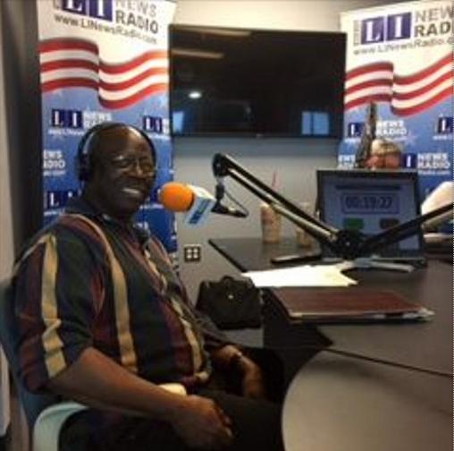 Photo of Silas Kelly courtesy of Long Island News Radio.