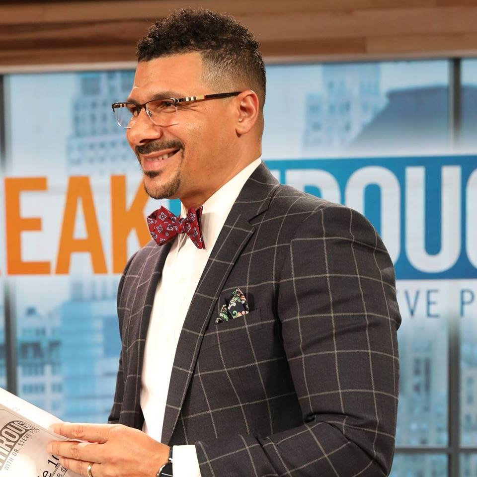 "Dr. Steve Perry, MSW, hosts the try-out Fox show ""Breakthrough with Dr. Steve Perry."" Photo from program's Facebook page."